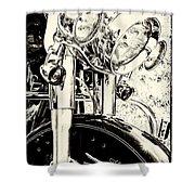Bike II Shower Curtain