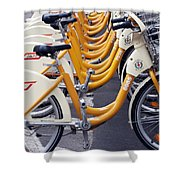 Bike Mi Comune Di Milano Italia Shower Curtain