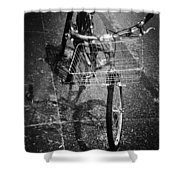 Bike Ride Friend  Shower Curtain