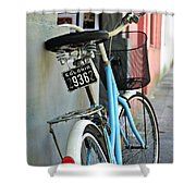 Lets Ride Shower Curtain
