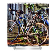 Bike Trek Shower Curtain