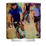 Bikers Shower Curtain