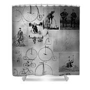 Bikezz Shower Curtain