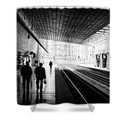 Bilbao Train Station Shower Curtain