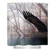 Bilbow's Eagle Shower Curtain