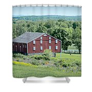 Bilgerville Road Farm  7d02271 Shower Curtain
