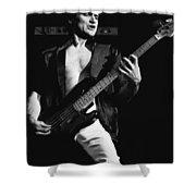 Bill Church On The Bass Shower Curtain
