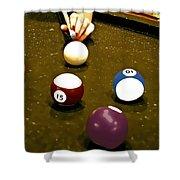 Billiards Art - Your Break -art 8 Shower Curtain