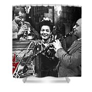 Billie Holiday Louis Armstrong Barney Bigard  New Orleans Set 1947-2010  Shower Curtain