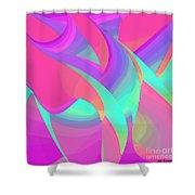 Billowy Shower Curtain by ME Kozdron