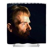 Billy Bob Thornton @ Fargo Tv Series Shower Curtain