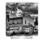 Billy's Restaurant And Walt's Diner - Old Forge New York Shower Curtain