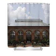 Biltmore Estate Conservatory Walled Garden Shower Curtain
