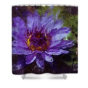 Biltmore Estate Water Lily Garden #2 Shower Curtain