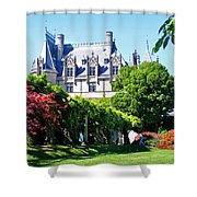 Biltmore House And Gardens Shower Curtain