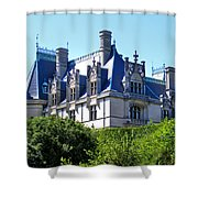 Biltmore House In Summer Shower Curtain