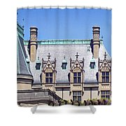 Biltmore House Roof Shower Curtain