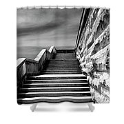 Biltmore Stairs Asheville Nc Shower Curtain