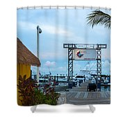 Bimini Guy Harvey Outpost Shower Curtain