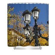 Bip Rambla Streetlight Shower Curtain