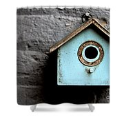 Bird House Of Blue By Diana Sainz Shower Curtain
