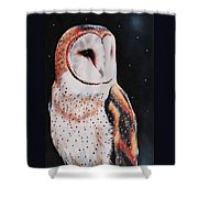 Bird N.7 Shower Curtain