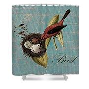 Bird Nest - 02v02t01 Shower Curtain