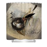 Bird Nest - Sp11ac02 Shower Curtain