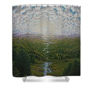 Bird View Shower Curtain