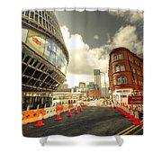 Birmingham New St  Shower Curtain