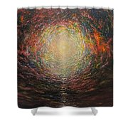Birth Canal Shower Curtain