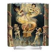 Birth Of The Chorus Girl Shower Curtain