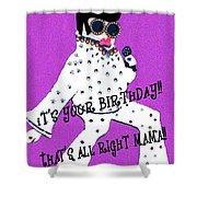 Birthday Mama Shower Curtain