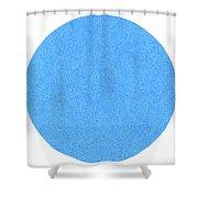 Biru Shower Curtain