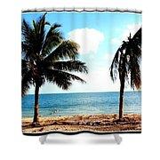 Biscayne Bay Florida Shower Curtain