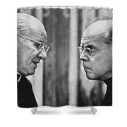 Bishops Talk Shower Curtain