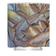 Bismark Palm Tree Weave Shower Curtain