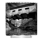 Bissell Bridge Shower Curtain