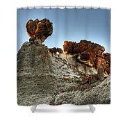 Bisti Land Form 3 Shower Curtain