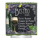 Bistro Paris Shower Curtain