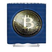 Bitcoin In Circulation Shower Curtain