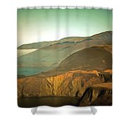 Bixby Bridge Digital Shower Curtain