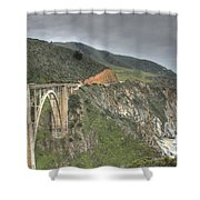 Bixby Bridge Shower Curtain