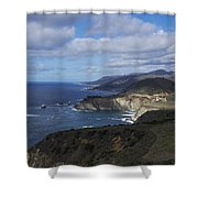 Bixby Bridge Shower Curtain