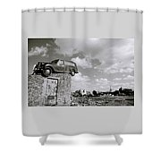 Dystopia Shower Curtain