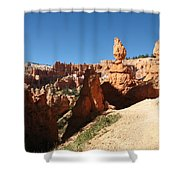Bizarre Shapes - Bryce Canyon Shower Curtain