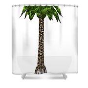 Bjuvia Simplex Prehistoric Tree Shower Curtain
