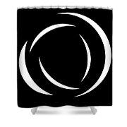 Black And White Art - 104 Shower Curtain