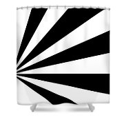 Black And White Art - 142 Shower Curtain