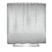Black And White Grainy Background Shower Curtain